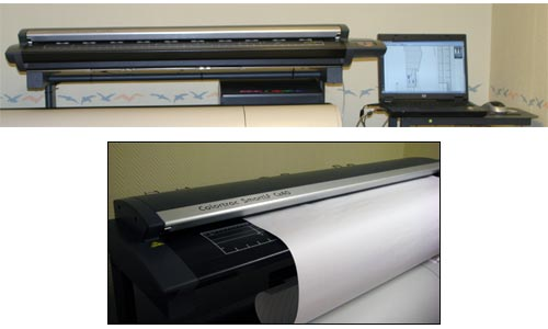 Färgscanner, Colortrac SmartIF Cx40